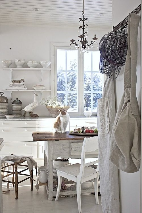 Pinterest White Country Kitchens