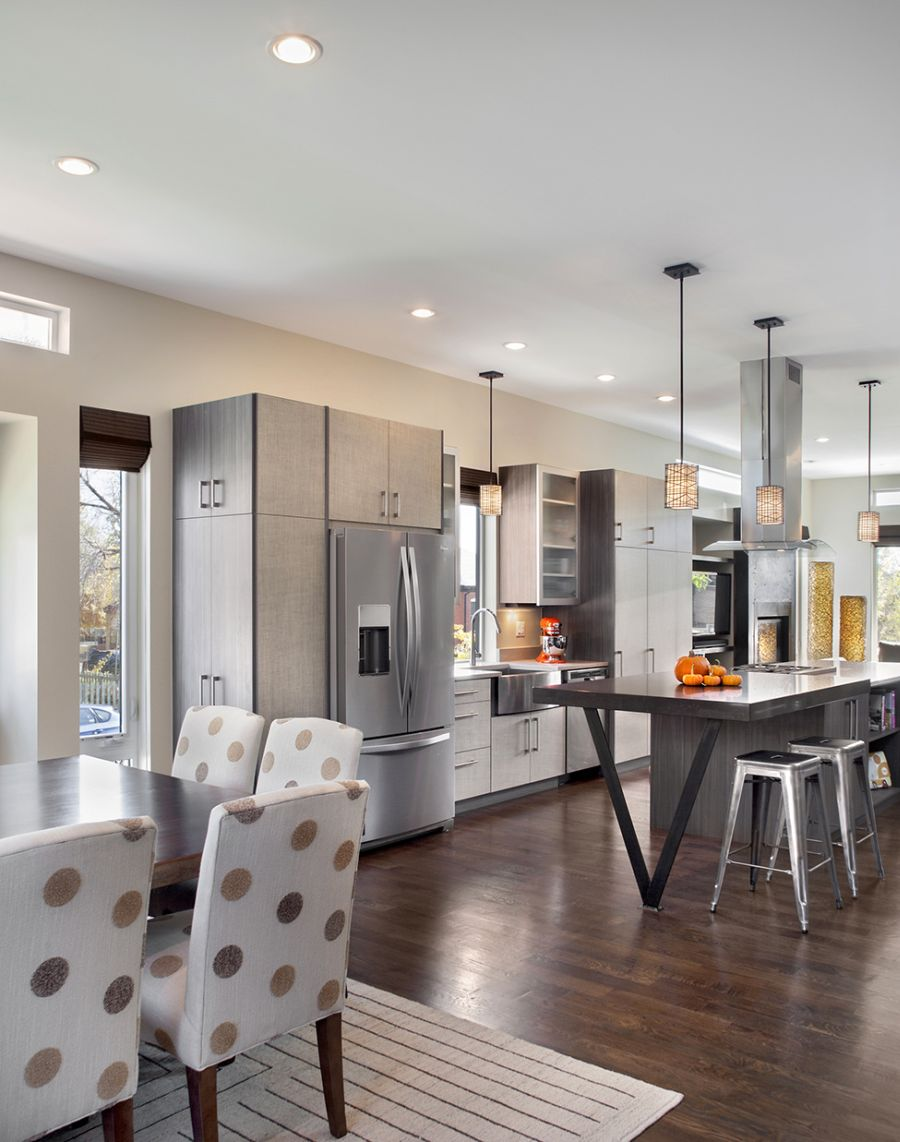 Ranch House Plans with Open Kitchen