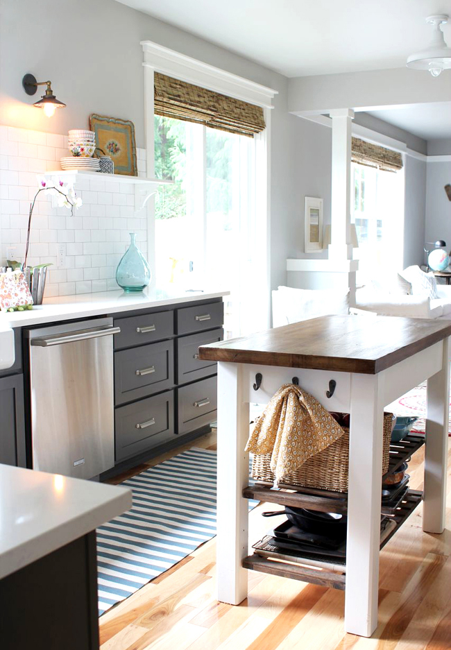 Remodel Kitchen with Grey Cabinets