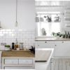 Rustic White Kitchen Feture