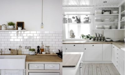32 Rustic White Kitchen