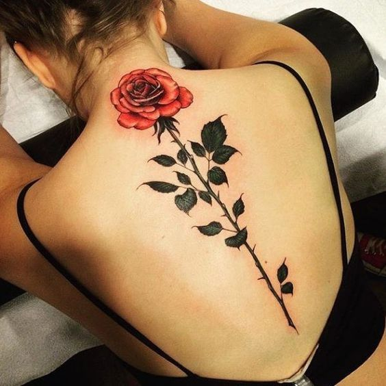Sexy Back Tattoos for Girls 11
