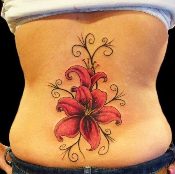 Sexy Back Tattoos for Girls 25