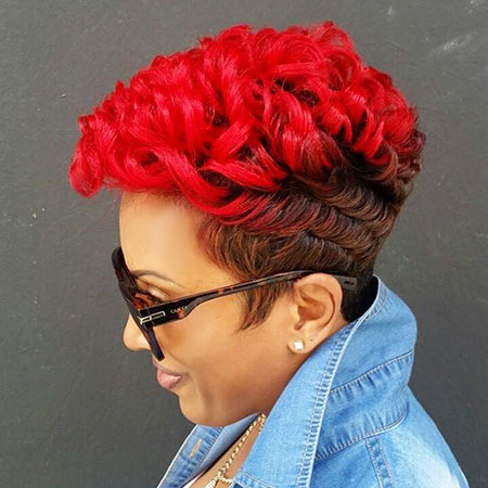 Short hairstyles for black women 12
