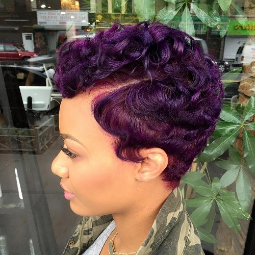 Short hairstyles for black women 6