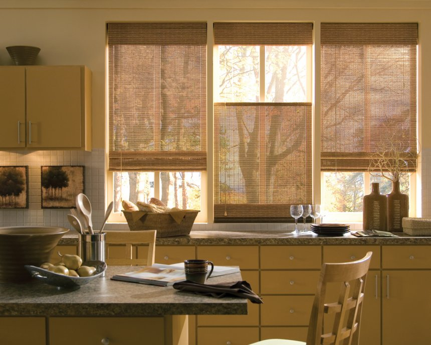 Stylish wooden blinds ideas 20
