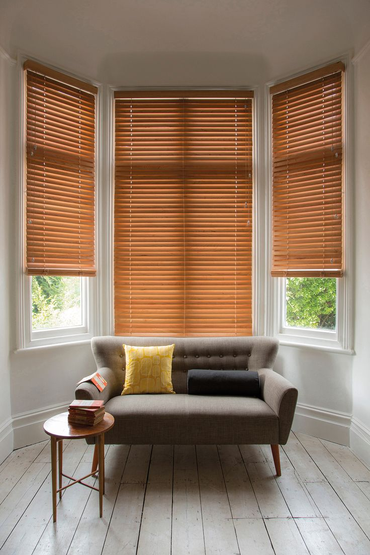 Stylish wooden blinds ideas 3
