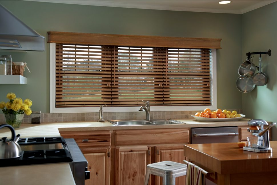Stylish wooden blinds ideas 5