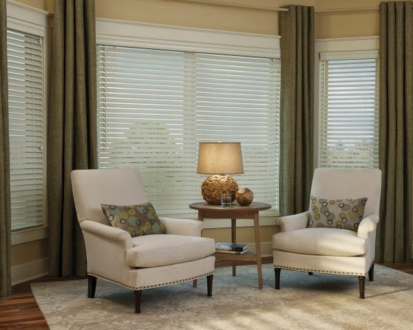 Stylish wooden blinds ideas 7