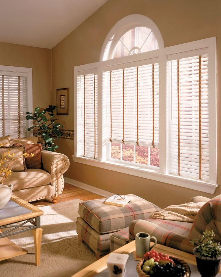 Stylish wooden blinds ideas 9