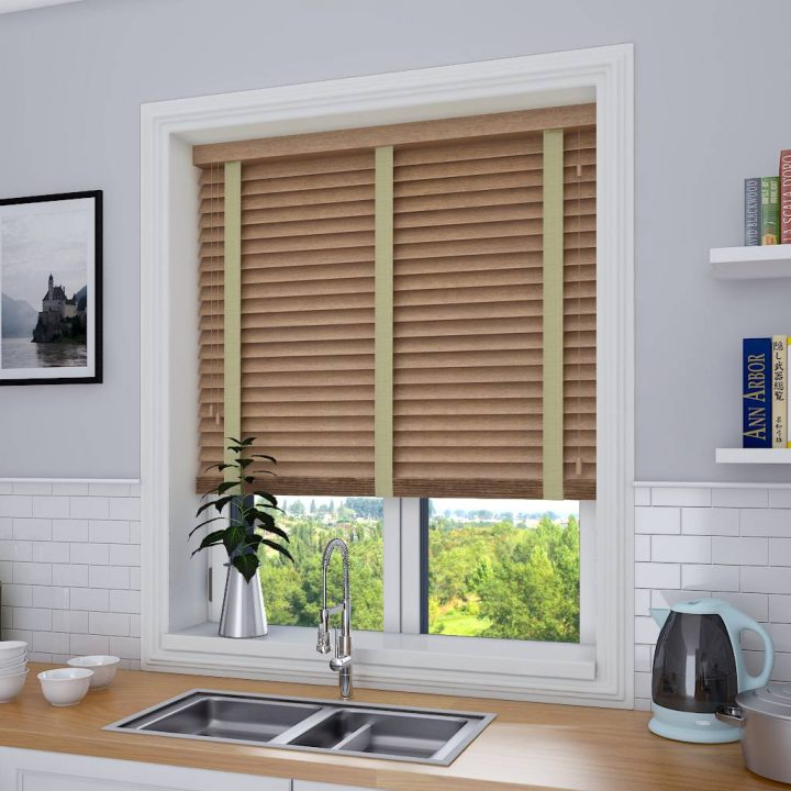 Stylish wooden blinds ideas