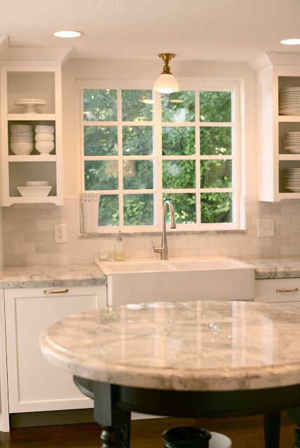 Super White Granite Kitchen