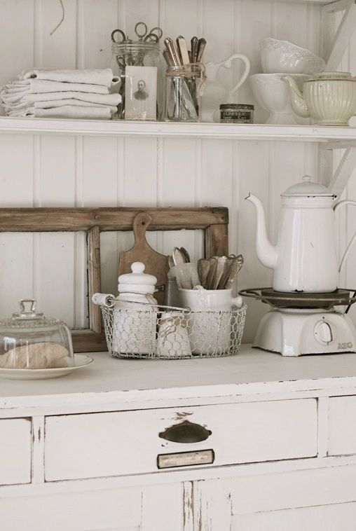 Vintage Rustic Kitchen Decor