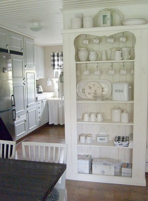 Vintage White Kitchen