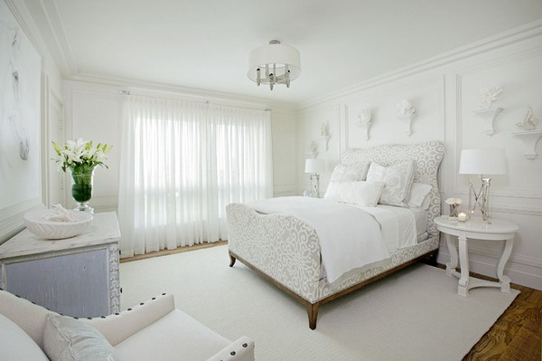 White Dedroom Design Ideas 13