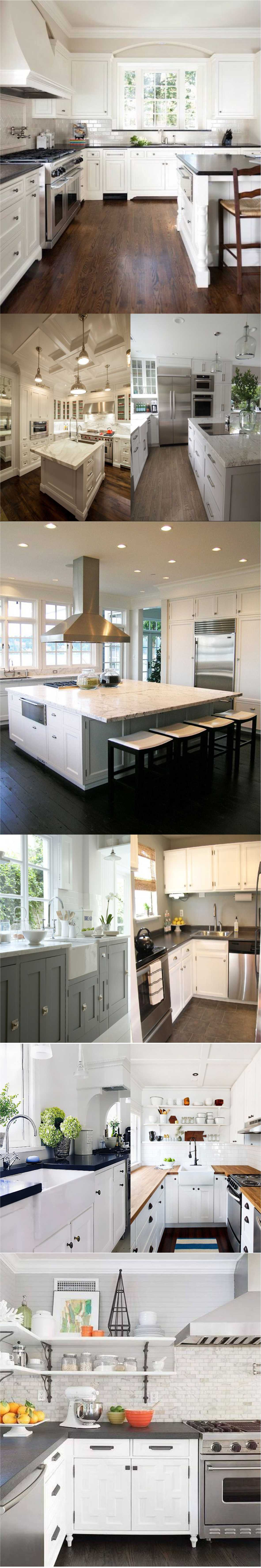 White Kitchen Countertops 2018