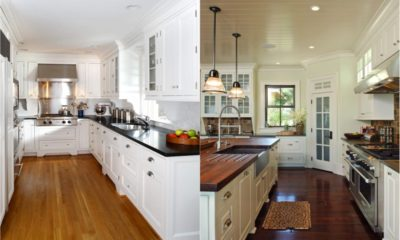 34 White Kitchen Countertops