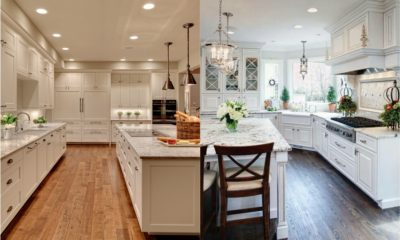 35 Beautiful White Kitchen Granite