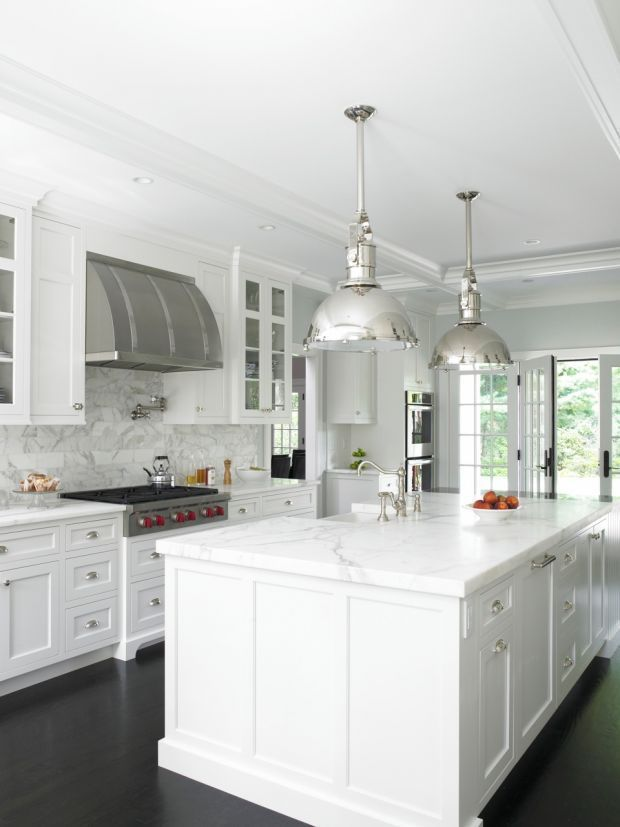 White Kitchen Lighting