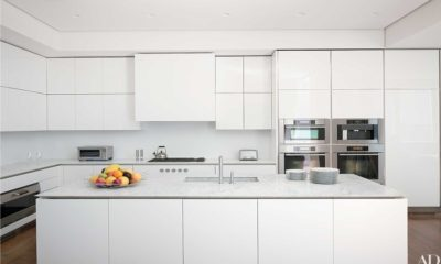 40 Beautiful White Kitchen Marble