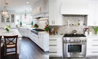 White Kitchen Remodel Feture