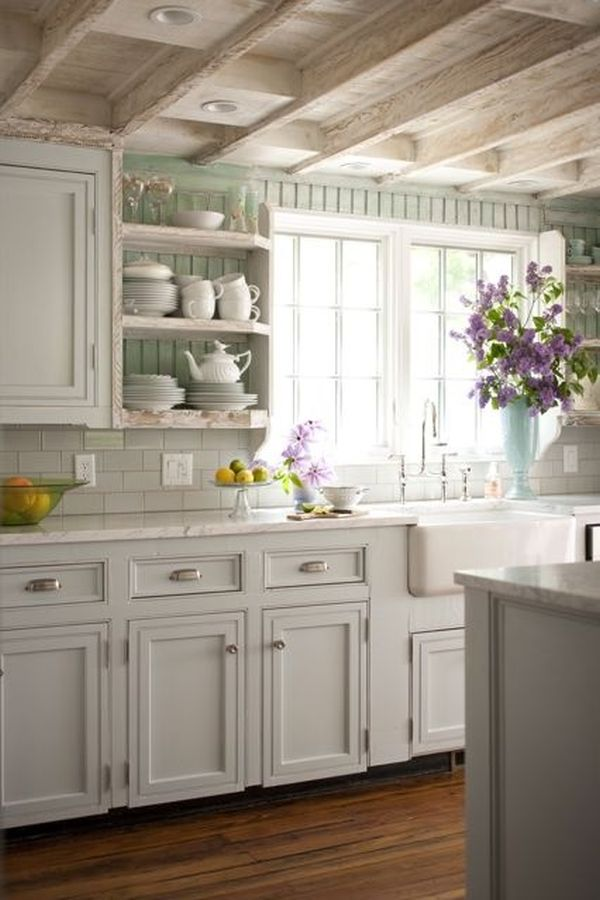 Beadboard Cottage Kitchen