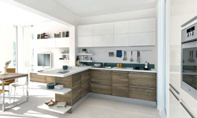 37 Best White Kitchen with Wooden