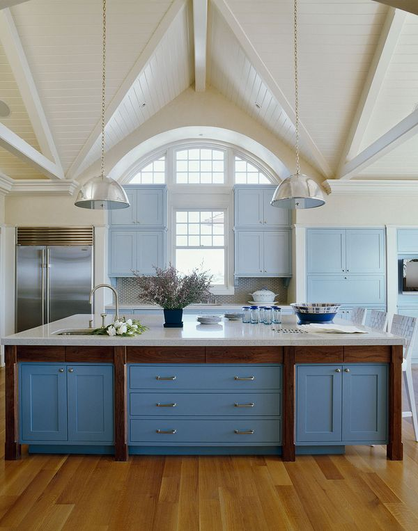 Cornflower Blue Kitchen