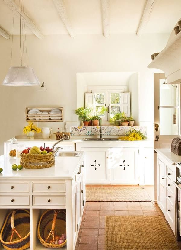 Country Farmhouse Kitchen Cabinets