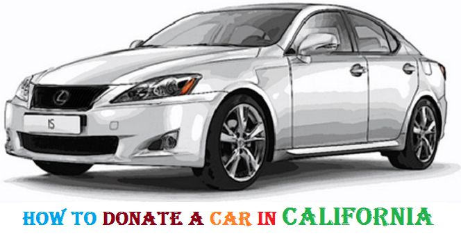 Donate car to charity California 20