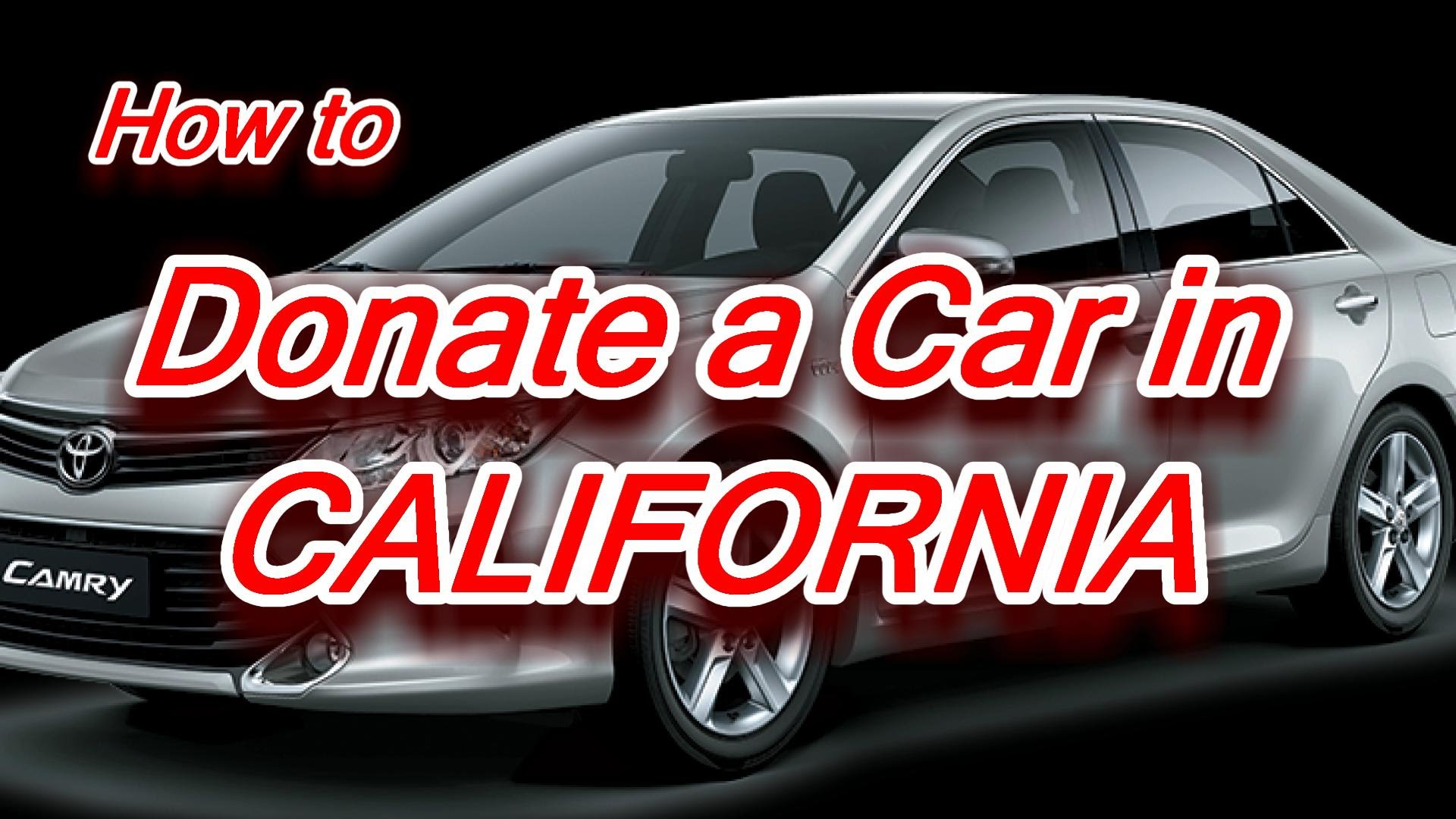 Donate to Car in California 2