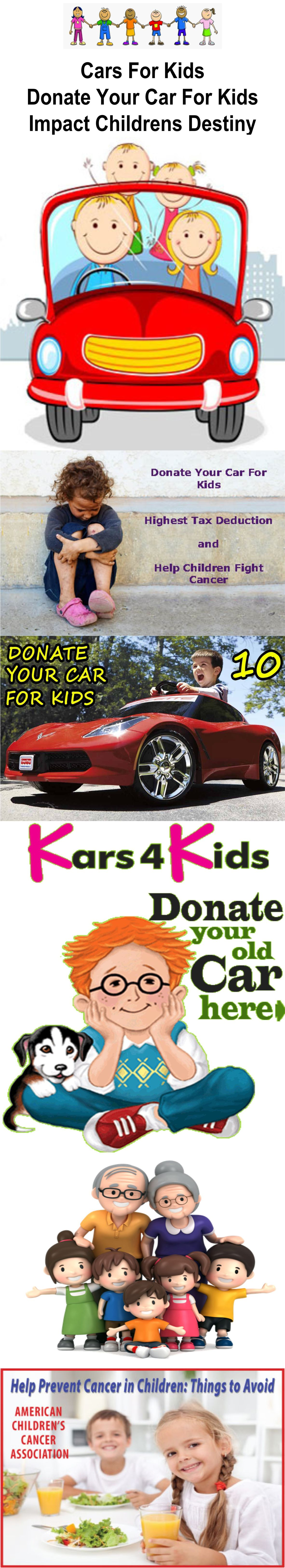 Donate your car for kids 2018