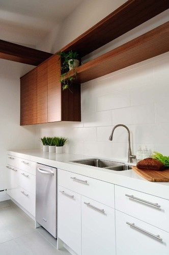 Flat Panel Kitchen Cabinets White