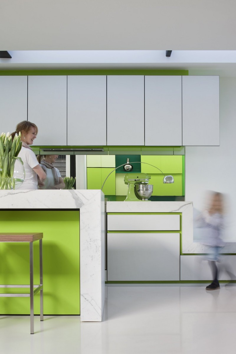 Green Kitchen Colors Combination