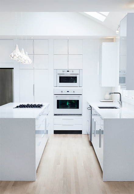 IKEA High Glossy White Kitchen