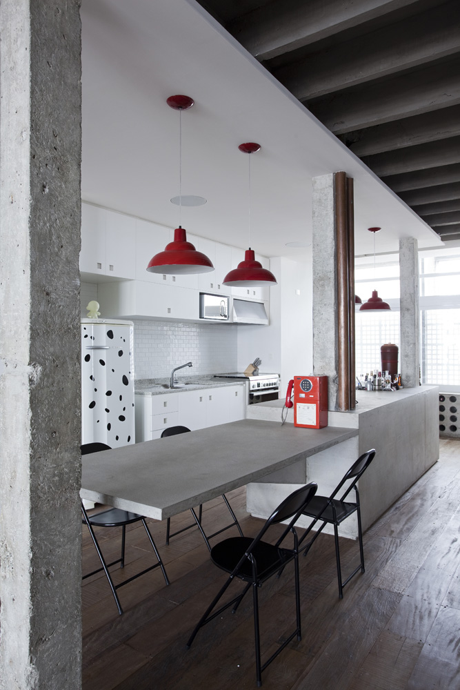 Industrial Look Kitchen Table