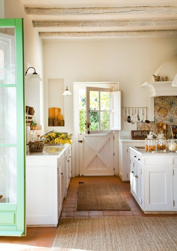 Kitchen with Dutch Door