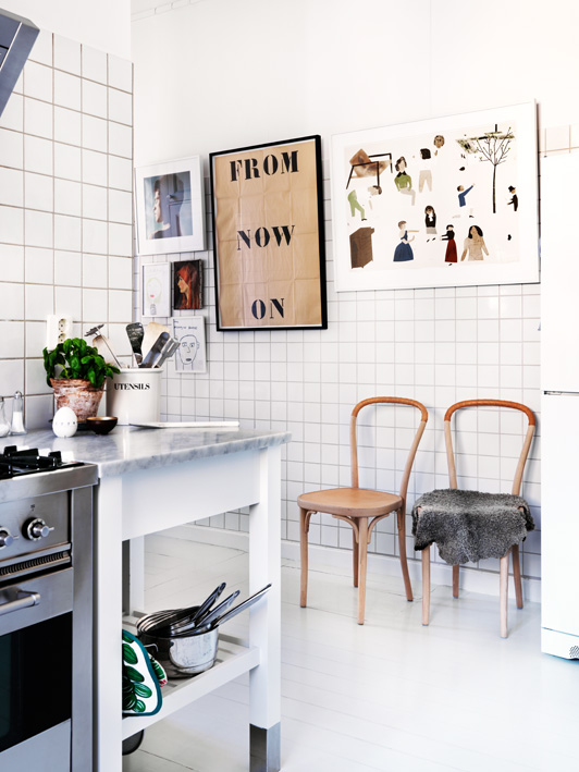 Leather Kitchen Chairs