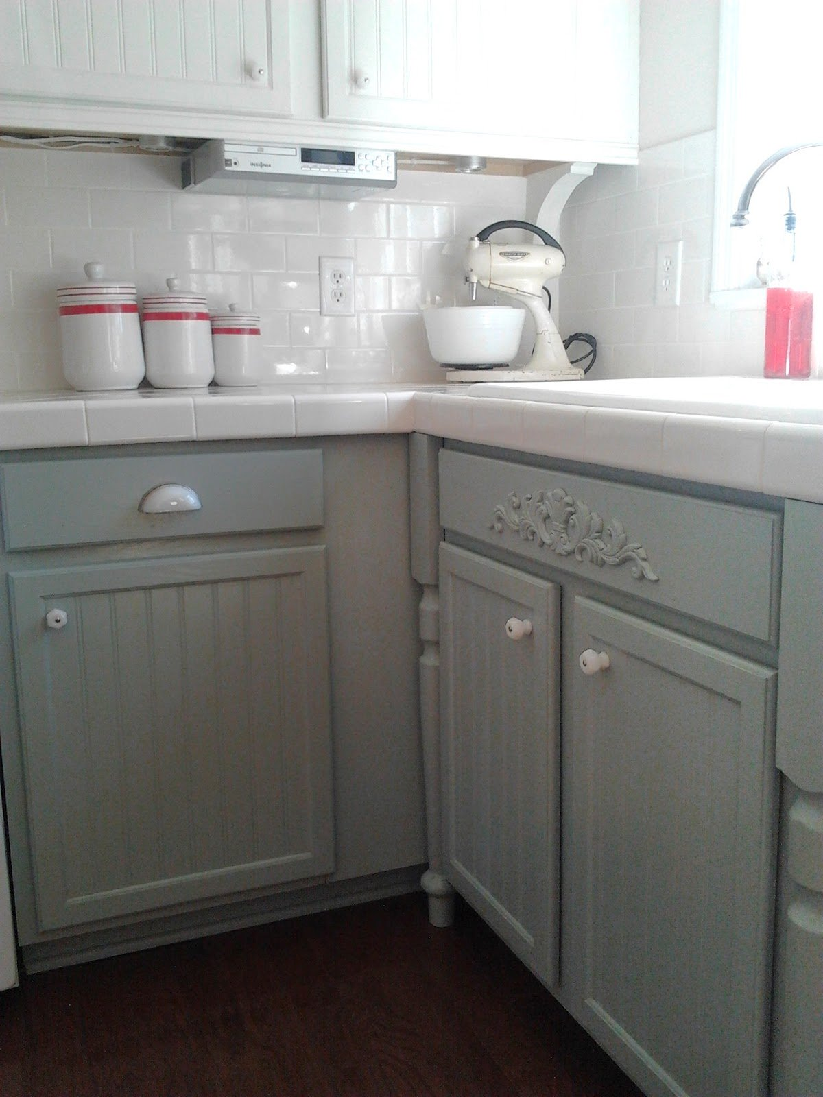 Oak Cabinets Painted Gray