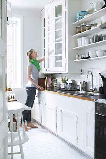 Small One Wall Kitchen Design Ideas