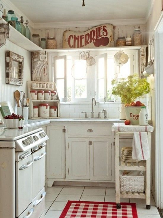 Small Shabby Chic Kitchen Ideas