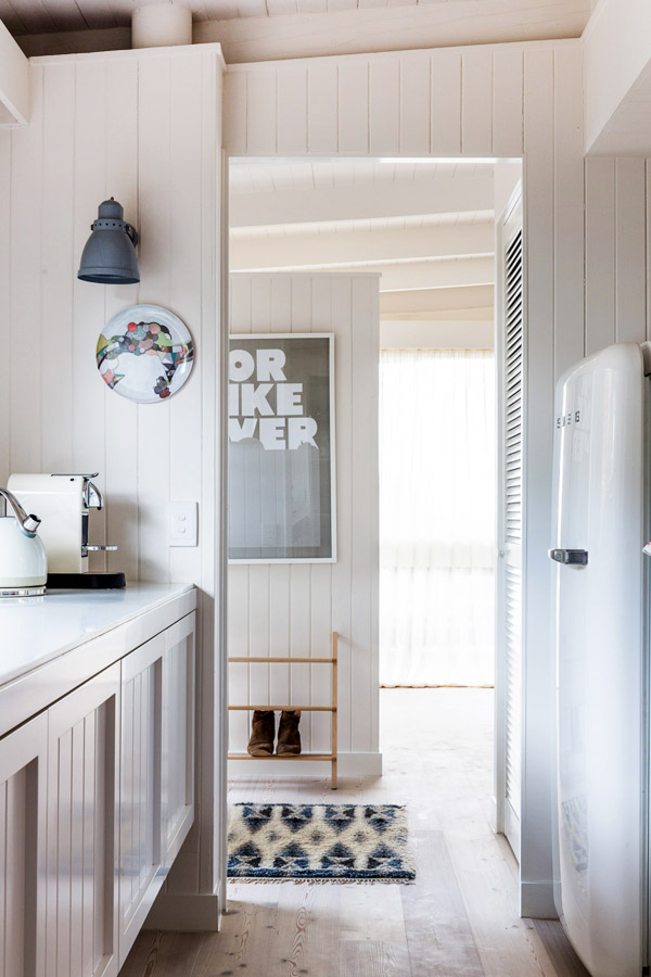 Smeg Refrigerator White Kitchen