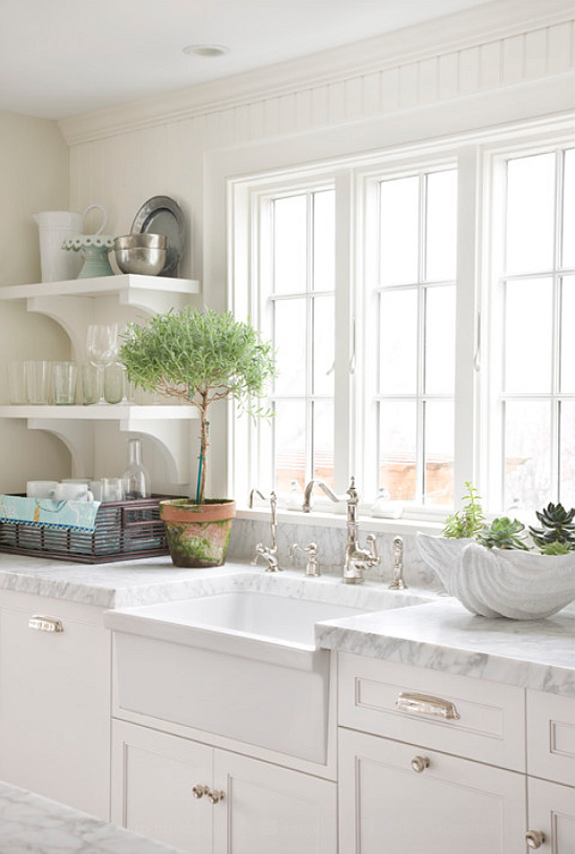 40 Beautiful White Kitchen Sink