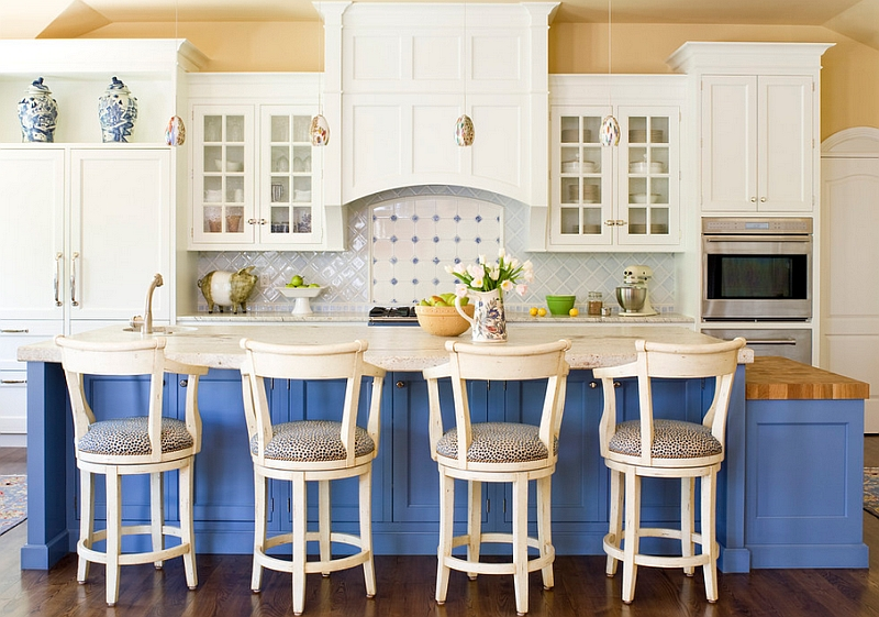 White Kitchen Blue 2