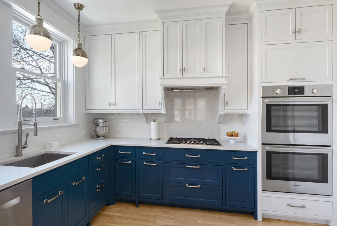 White Kitchen Blue 3