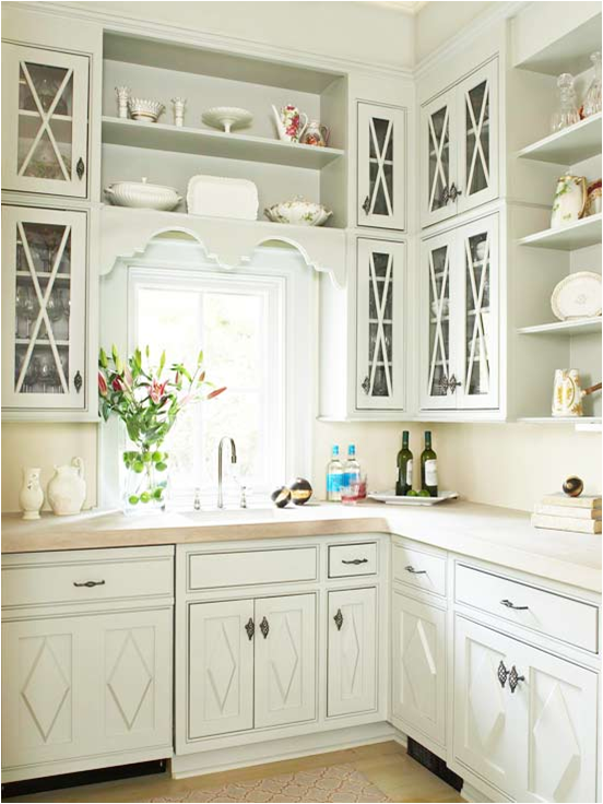 White Kitchen Cabinet Hardware Ideas