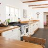 White kitchen oak Feture