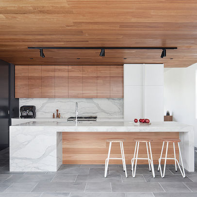 White kitchen timber 4