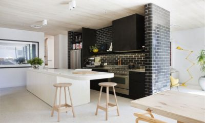 32 Beautiful White Kitchen Brick