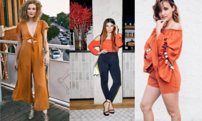 Beautiful Orange outfit ideas 2018 Feture